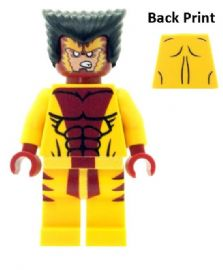 Sabretooth (Victor Creed) from X-Men - Custom Designed Minifigure